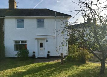 Thumbnail 3 bed semi-detached house for sale in 26 Crossway, Rogiet, Caldicot, Monmouthshire