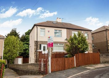 Thumbnail 3 bedroom semi-detached house for sale in Fagley Drive, Eccleshill, Bradford
