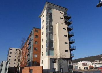 Thumbnail 1 bed flat to rent in Swansea
