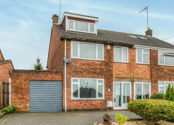 Thumbnail 3 bed semi-detached house for sale in Hillcrest, Leamington Spa, Warwickshire, England