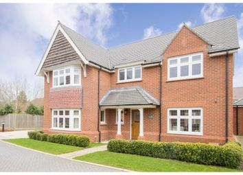 Thumbnail 4 bed detached house for sale in Waring Close, Leicester