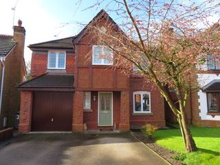 Thumbnail 4 bed detached house for sale in Redacre Close, Dutton, Warrington