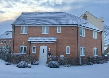 Thumbnail 4 bed detached house for sale in Martin Close, Watlington, Kings Lynn