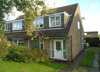 Thumbnail 3 bed semi-detached house to rent in Holmsley Lane, Woodlesford, Leeds