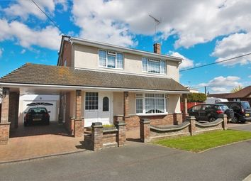 Thumbnail 4 bed detached house for sale in Daarle Avenue, Canvey Island, Essex