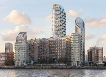 Thumbnail 2 bed flat for sale in Charrington Tower, Biscayne Avenue, London
