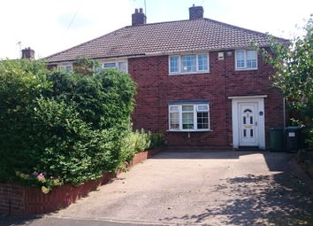 Thumbnail 3 bed semi-detached house to rent in Fairway Avenue, Tividale