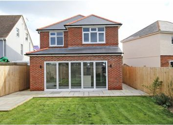 Thumbnail 4 bed detached house to rent in Compton Road, New Milton
