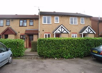 Thumbnail 2 bed terraced house to rent in Talbott Close, Broughton Astley, Leicester