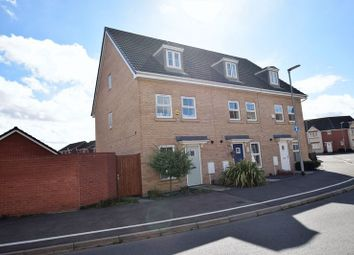 Thumbnail 3 bed town house for sale in Taurus Avenue, North Hykeham, Lincoln