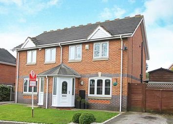 Thumbnail 3 bed semi-detached house for sale in Underhill Road, Barlborough, Chesterfield, Derbyshire