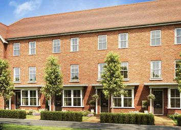 """Thumbnail 4 bed terraced house for sale in """"Hythe"""" at Broughton Crossing, Broughton, Aylesbury"""