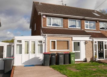 Thumbnail 3 bed semi-detached house for sale in Hargrave Close, Water Orton, West Midlands