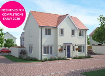 Thumbnail 4 bed detached house for sale in Walters Field, Roundswell, Barnstaple