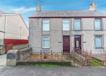 Thumbnail 3 bed semi-detached house for sale in High Street, Bryngwran, Holyhead, Anglesey