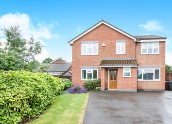 Thumbnail 5 bedroom detached house for sale in Fielding Lane, Ratby, Leicester
