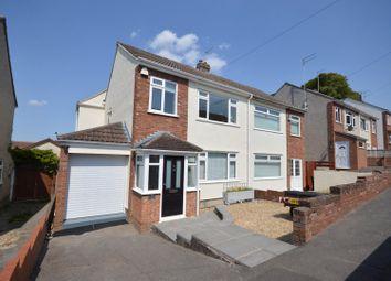 Thumbnail 3 bed semi-detached house for sale in Milward Road, Keynsham, Bristol