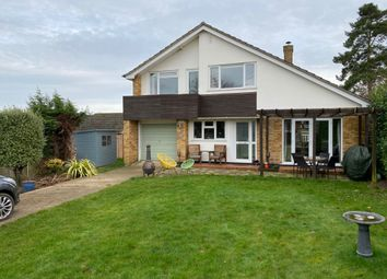 Thumbnail 3 bedroom detached house for sale in Danes Close, Stowmarket