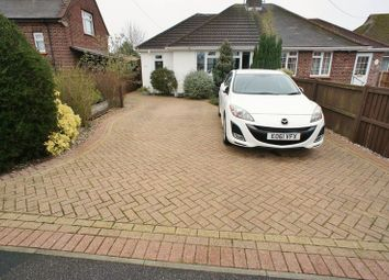 Thumbnail 3 bed semi-detached bungalow to rent in Church Road, Thorrington, Colchester