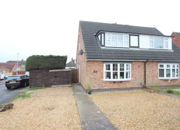 Thumbnail 3 bedroom semi-detached house for sale in Lime Grove, Earl Shilton, Leicester