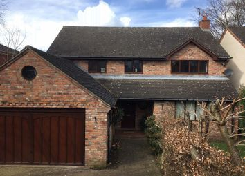 Thumbnail 4 bed detached house to rent in Park Bank, Congleton