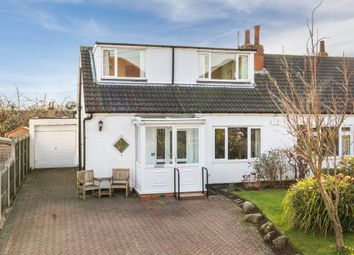 Thumbnail 3 bed semi-detached bungalow for sale in The Poplars, Bramhope, Leeds
