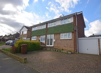 Thumbnail 3 bed semi-detached house for sale in Bettescombe Road, Rainham, Kent