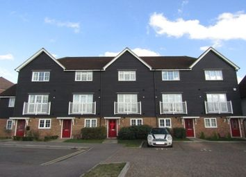 Thumbnail 4 bedroom town house to rent in Poynder Drive, Snodland