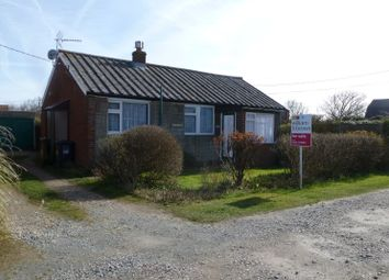 Thumbnail 2 bedroom bungalow for sale in Green Sleeves, Lynton Road, Walcott, Norwich, Norfolk