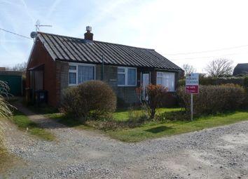 Thumbnail 2 bed bungalow for sale in Green Sleeves, Lynton Road, Walcott, Norwich, Norfolk
