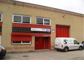 Thumbnail Warehouse to let in Unit 12, Deptford Trading Estate, Blackhorse Road, Lewisham, London, Greater London