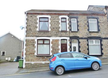 Thumbnail 3 bed end terrace house for sale in Augustus Street, Ynysybwl