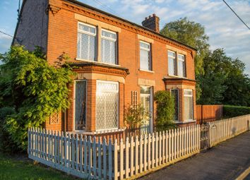 Thumbnail 4 bed detached house for sale in Council Houses, High Road, Wisbech St. Mary, Wisbech