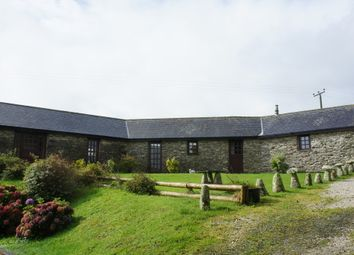 Thumbnail 3 bed barn conversion to rent in St. Columb