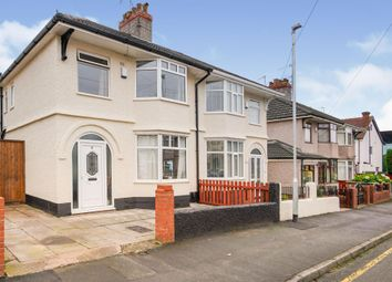 Thumbnail 3 bed semi-detached house for sale in Mallory Road, Tranmere, Birkenhead