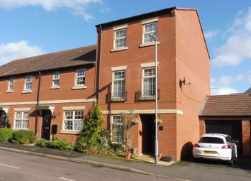 Thumbnail 4 bed town house for sale in Outfield Close, Great Oakley, Corby