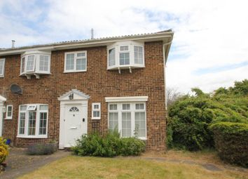 Thumbnail 3 bedroom end terrace house to rent in Regency Drive, West Byfleet