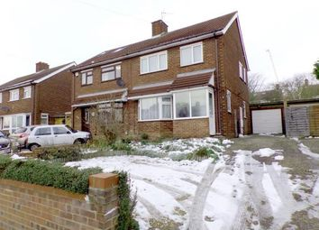Thumbnail 3 bed semi-detached house for sale in Queens Drive, Putnoe, Bedford, Bedfordshire
