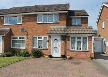 Thumbnail 3 bed property for sale in Castlemaine Drive, Hinckley
