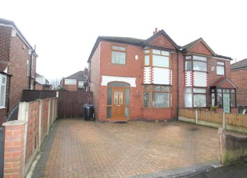 Thumbnail 3 bed semi-detached house for sale in Bradwell Avenue, Stretford, Manchester