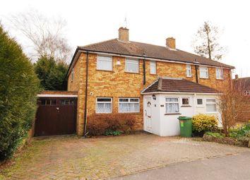 Thumbnail 4 bed semi-detached house for sale in Castle Drive, Kemsing, Sevenoaks, Kent