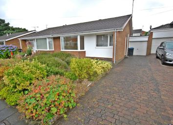 Thumbnail 2 bed semi-detached bungalow to rent in Norwich Road, Newton Hall, Durham