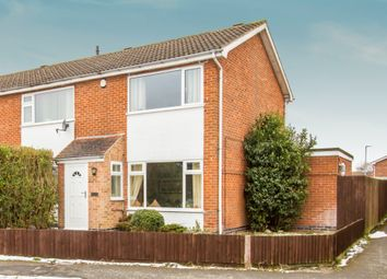 Thumbnail 2 bed semi-detached house for sale in Buckingham Drive, Loughborough