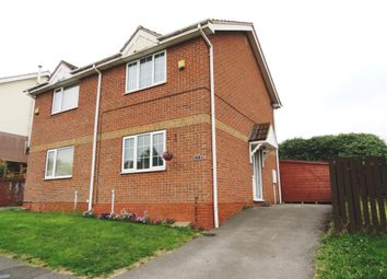 Thumbnail 2 bed semi-detached house for sale in Herriot Grove, Bircotes, Doncaster