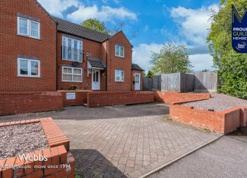 Thumbnail 2 bed flat for sale in Helens Court, Hednesford, Cannock