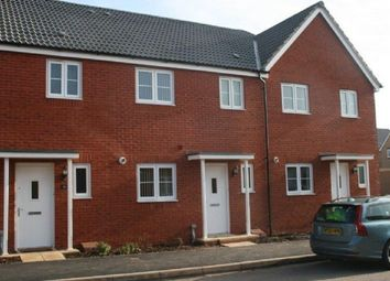 Thumbnail 3 bed terraced house to rent in Resolution Road, Exeter