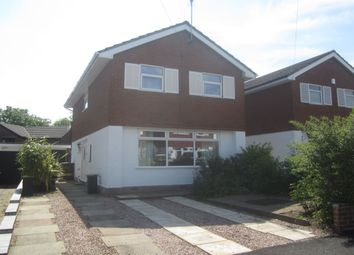 Thumbnail 3 bed detached house for sale in Chapelmere Close, Sandbach