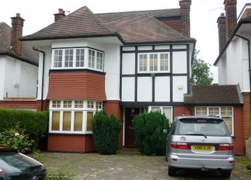 Thumbnail 4 bedroom detached house to rent in Haslemere Avenue, Hendon