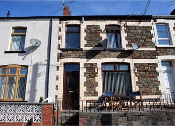Thumbnail 3 bed terraced house for sale in Lewis Terrace, Porth