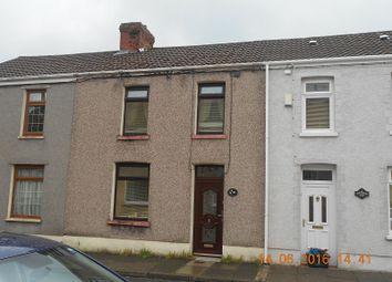 Thumbnail 3 bed terraced house to rent in Harvey Street, Maesteg, Bridgend.